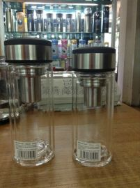 陕西富光礼品杯定制 品牌玻璃杯印字 陕西杯子厂家