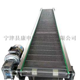 康申机械304不锈钢网带 耐高温食品链网输送带