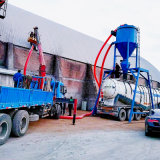 通畅气力输送机 自吸式干灰粉料装车机 矿粉清库机