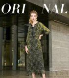 羽沙国际2020春装苎麻新款中长裙进货款式分几种