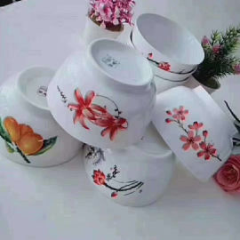 跑江湖擺地攤彩瓷花瓷白瓷餐具2元模式怎麽樣