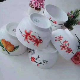 跑江湖擺地攤彩瓷花瓷白瓷食具2元模式怎麼樣