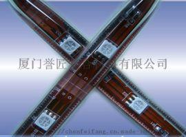 LED软光条水晶胶灌封胶耐黄变PU胶软灯条透明胶