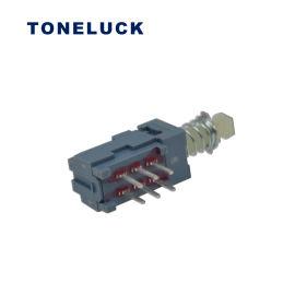 MPN系列自锁2电路直PCB端子 家用电器按键开关