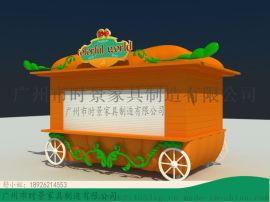 中式售卖亭,国外售卖亭,小木屋售卖亭