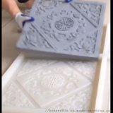 砖雕模具硅胶砂岩浮雕模具胶