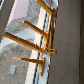 通信线槽三联式电缆梯子架规格玻璃钢电缆托架