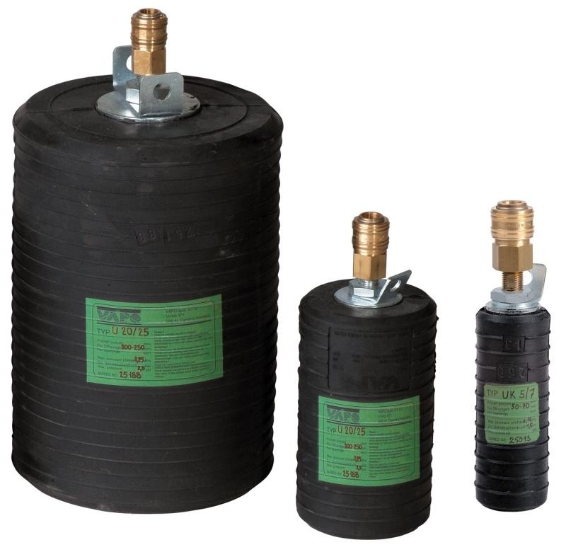 欧洲进口管道封堵气囊 管道修复气囊 多变径管道气囊
