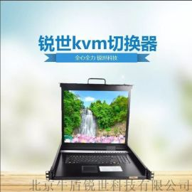 CS-1701高清折叠液晶17寸kvm切换器显示器