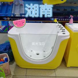 圆形婴幼儿游泳池,儿童游泳池设备,游泳馆浴缸婴儿
