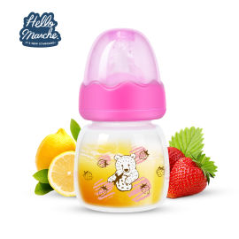 厂家直销迷你果汁奶瓶 新生儿PP奶瓶 60z