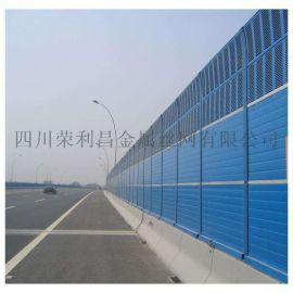 成都金属声屏障,成都高架桥声屏障,成都百叶孔声屏障