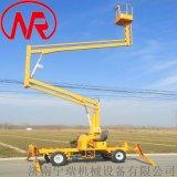 维修  升降机  柴油动力曲臂机 高空旋转作业平台