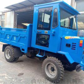 销售小型四驱四不像/建筑工地自卸式拖拉机