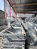 昆明吊篮围栏抗震吊围栏角钢支架高铁墩身吊围栏步板
