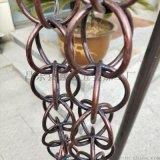 铝合金排水装饰雨链 山东泰安雨链