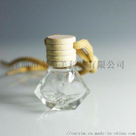 汽车香水瓶可装补充液挂件
