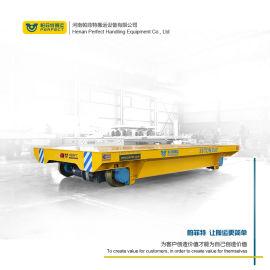 搬运铸件过跨地轨车轨道平板车零配件运输电动小车定制