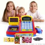 迪士尼米奇儿童收银机玩具 仿真刷卡扫描超市收银台