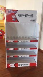 超市促销道具广告展示架POP陈列架瓦楞纸货架