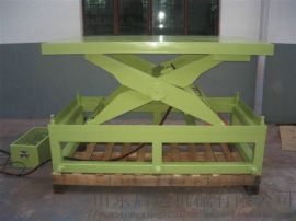 剪叉汽车升降台简易起重机启运烟台市货运举升设备