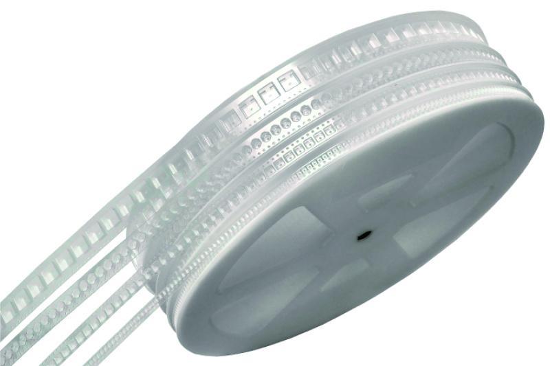 8mmSMD元器件塑膠載帶 佛山高透黑色塑膠載帶