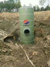 一体化污水泵站图纸的深化设计