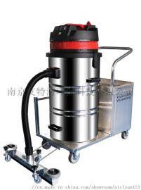 电瓶式工业吸尘器厂家手推式充电型工业吸尘机