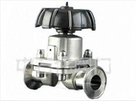 厂家直销-药用卫生级隔膜阀法兰隔膜阀