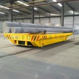 蓄电池供电式地轨平车,矿用隧道工程轨道平板车