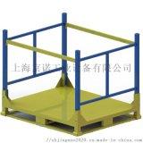 鋼製堆垛架 堆垛式貨架 摺疊鐵架 鐵料架