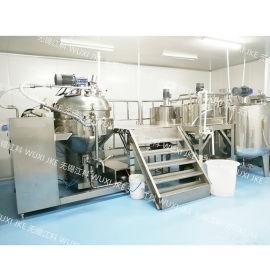 调味品沙拉酱真空均质乳化机生产制造厂