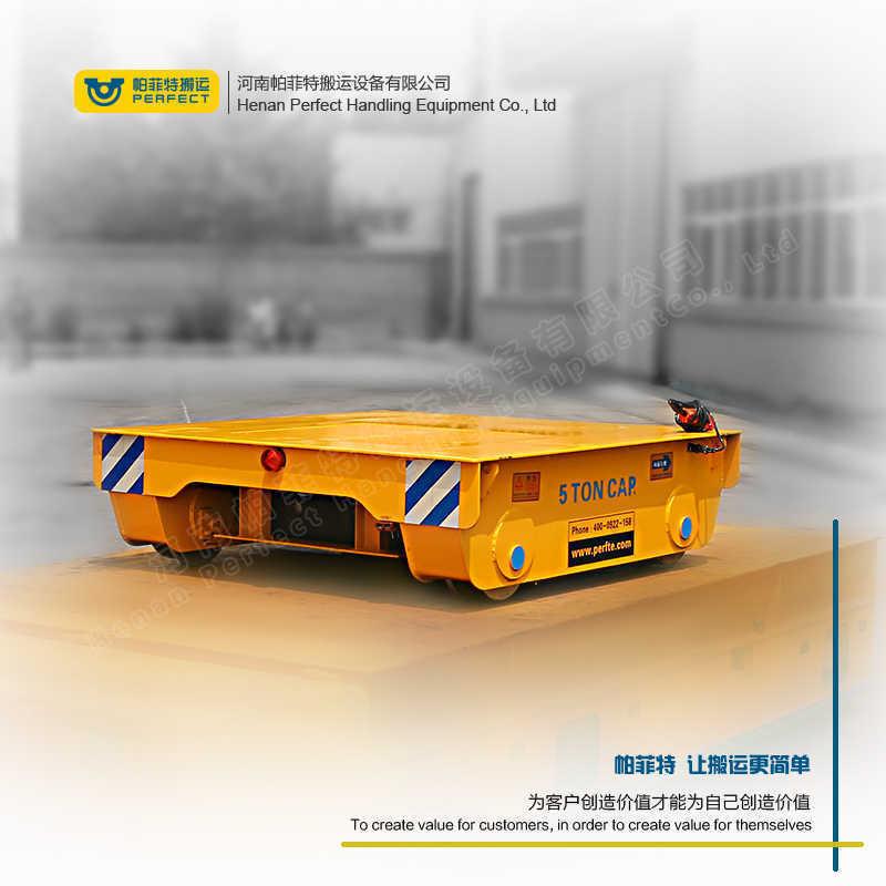 环形轨道移动搬运设备侧翻装置轨道平车 非标定制车