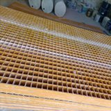污水处理玻纤网格栅板厂家玻璃钢格栅板