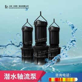 广西排涝站1200ZQ-85潜水轴流泵选型