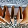 亚光白铝方管格栅 铝方管深花梨格栅