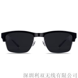 可跨境新品智能蓝牙眼镜防蓝光蓝牙通话太阳眼镜骨传导