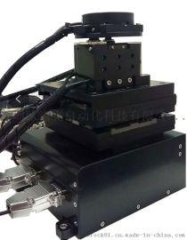 六轴高速UVW纳米对位平台 光纤精密组装对位设备