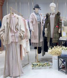 杭州品牌折扣女装华人杰针织衫抖音直播同款货源