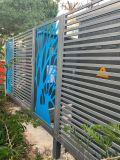 小區外牆配電箱穿衝鋁單板  醫院配電箱雕刻鋁單板