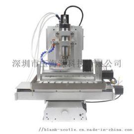 小型数控5轴联动3D木工亚克力代木雕刻机