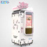 现货机器猫自动售货冰淇淋机自助冰激凌机