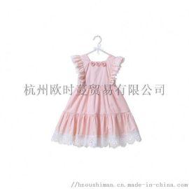 童裝夏季中小童裙韓版兒童公主裙女童連衣裙