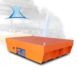 轨道推车导轨遥控轨道车 载重10吨平板电动车