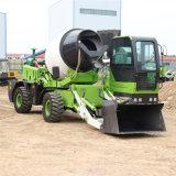 3方混凝土搅拌车 多功能农用自上料水泥搅拌罐车