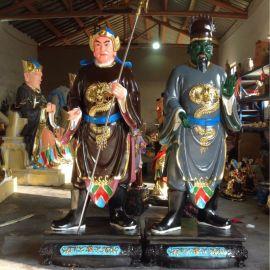佛教    像   神将 玻璃钢  金钢雕塑