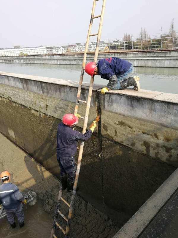 佳木斯市循环水道断裂缝堵漏怎么处理