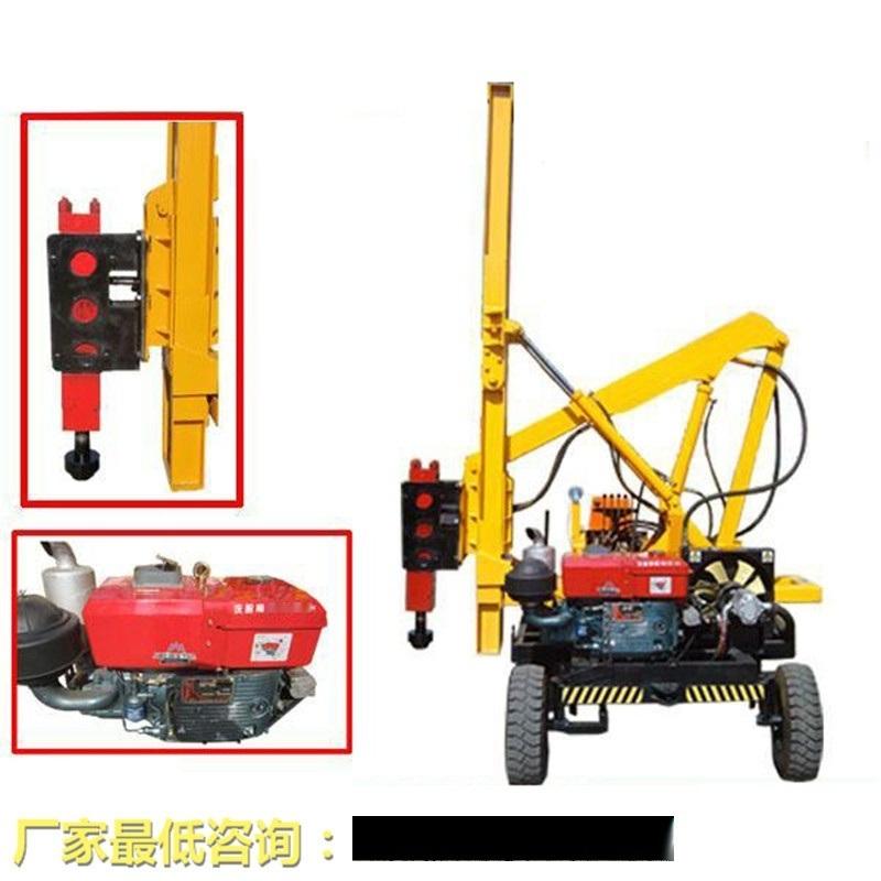天津高速护栏打桩机厂家直销