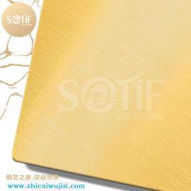 不锈钢精密加工 304拉丝钛金钢板 彩色拉丝蚀刻板