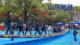 网红桥摇摆桥 山东驰胜景区农庄户外大型水上娱乐设备